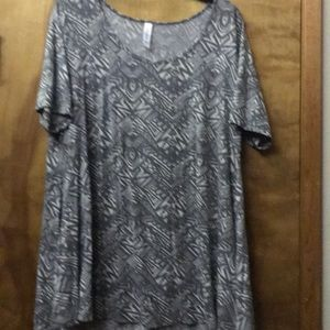 LulaRoe Perfect T, XL